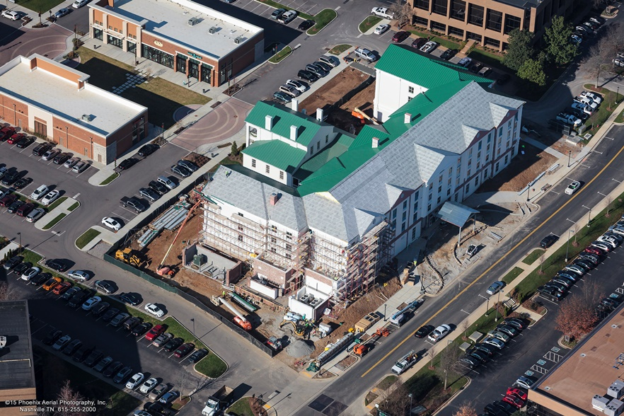 Hilton Garden Inn Brentwood Nashville Tn Mcmurry Construction